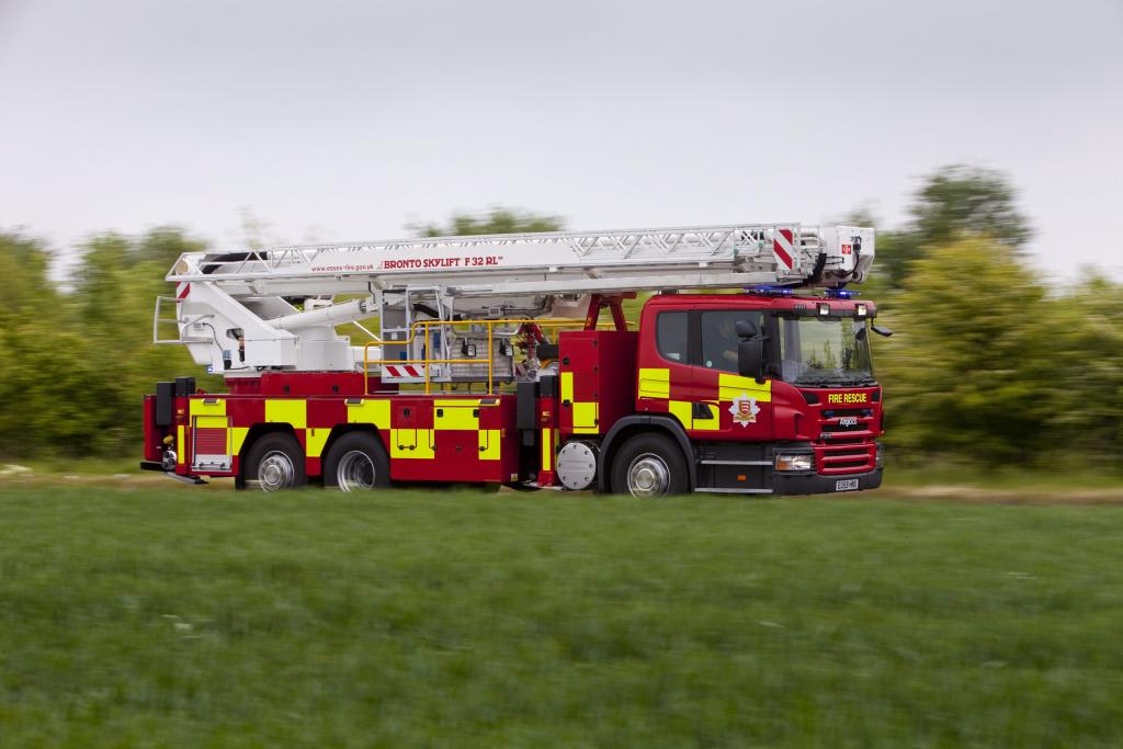 Scania P310 Fire Truck